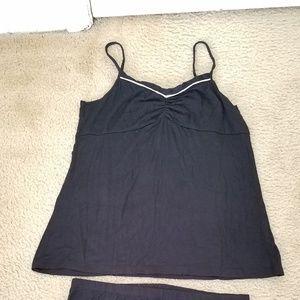 Size small, black pajamas